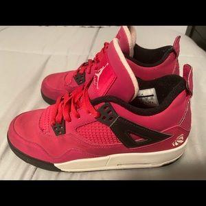 Pink retro Nike Jordan Flight size 7Y